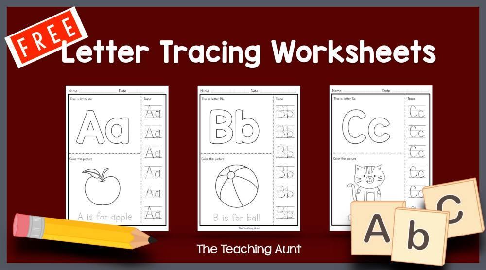 Preschool Alphabet Worksheets Free Printable