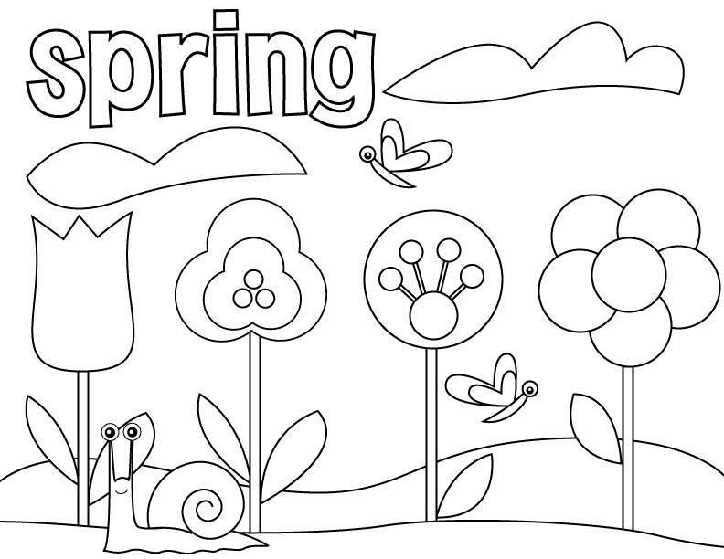Preschool Coloring Worksheets Free