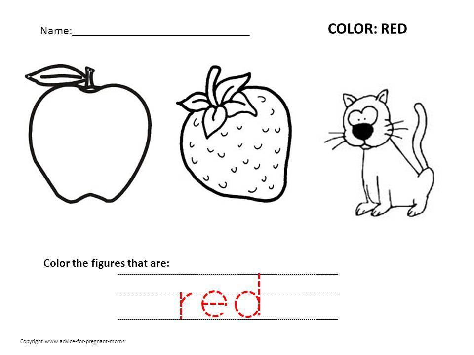 Preschool Worksheets Alphabet Coloring