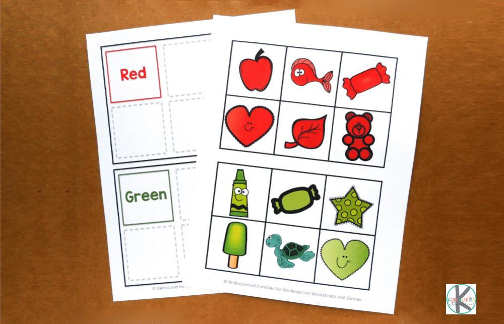 Preschool Worksheets And Activities 2