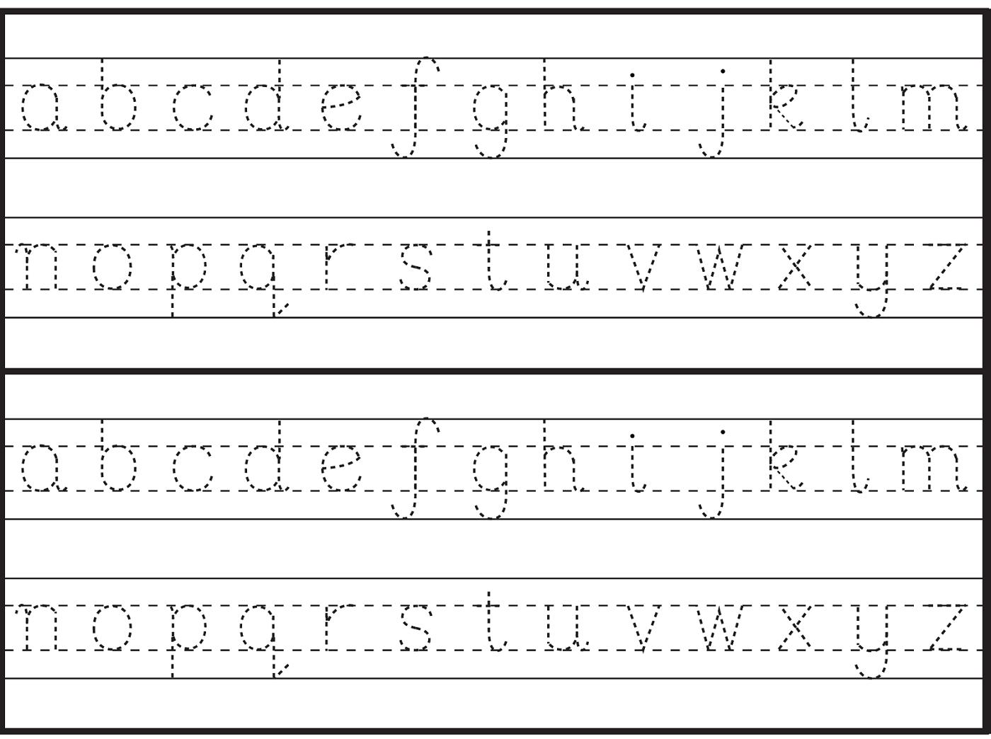 Alphabet Worksheets For English Learners
