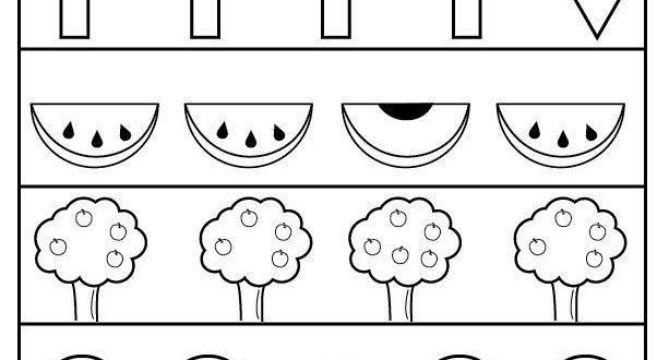 Free Preschool Same And Different Worksheets