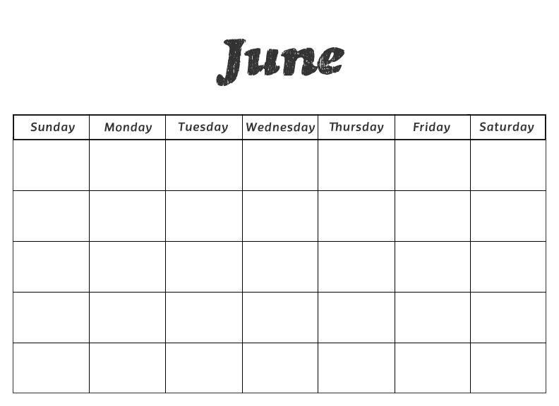 June Preschool Worksheets 7