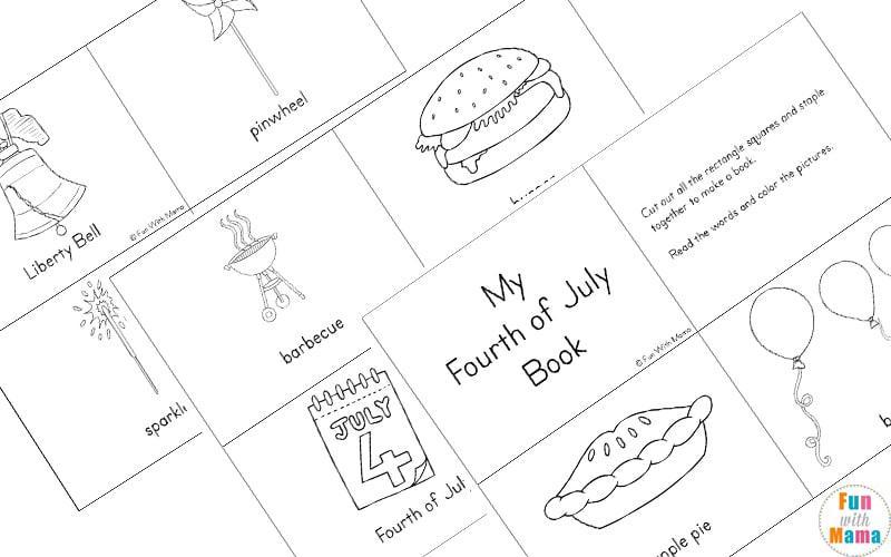 Preschool Fourth Of July Worksheets 2
