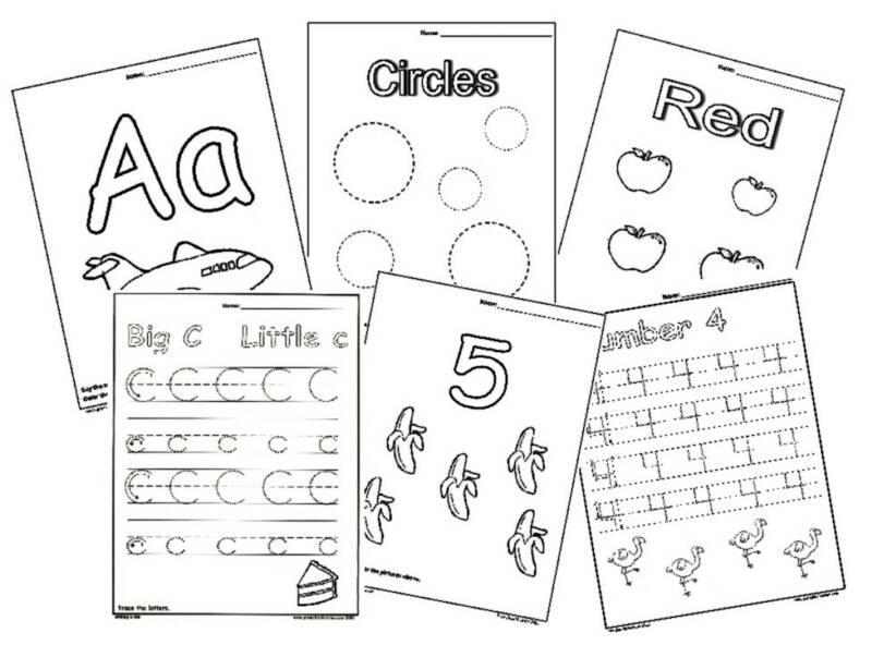 Preschool Math Worksheets Free Printable