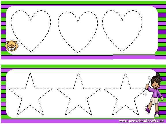 Preschool Worksheets Dotted Lines 6
