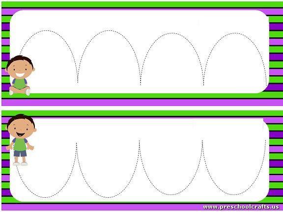 Preschool Worksheets Dotted Lines 8