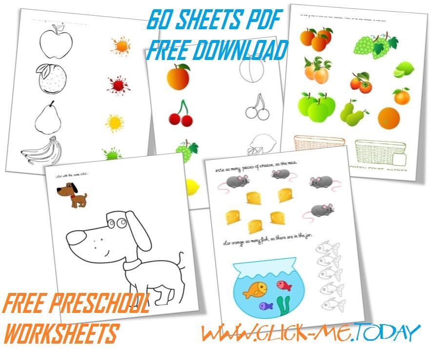 Preschool Worksheets Pdf Free Download