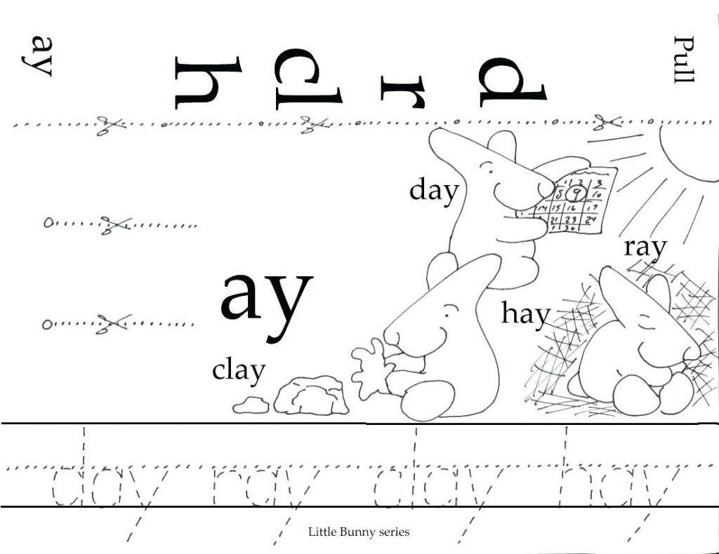 Preschool Printable Reading Books