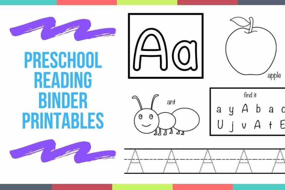 Preschool Reading Worksheets Pdf
