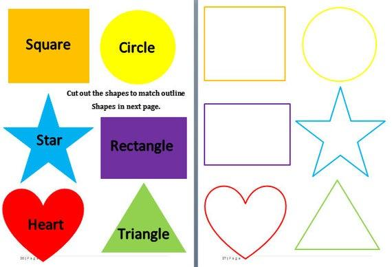 Preschool Worksheets Matching Objects 5