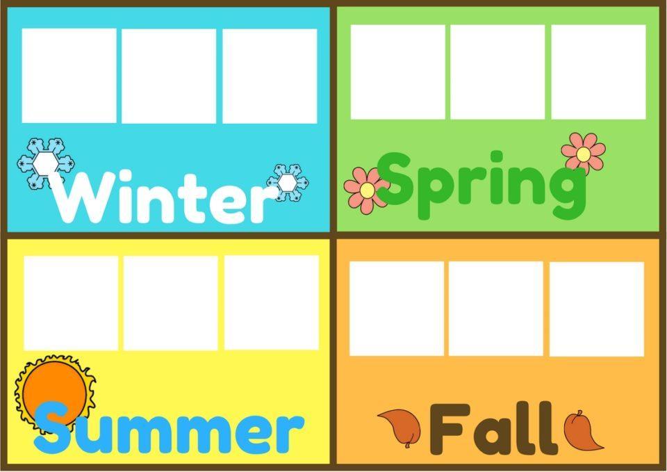 Preschool Worksheets Months 2