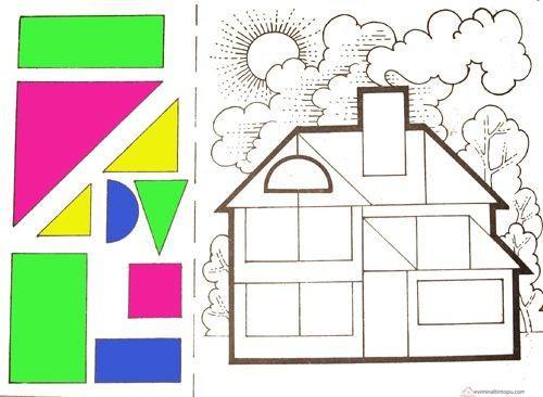 Preschool Worksheets Shapes And Colors 1