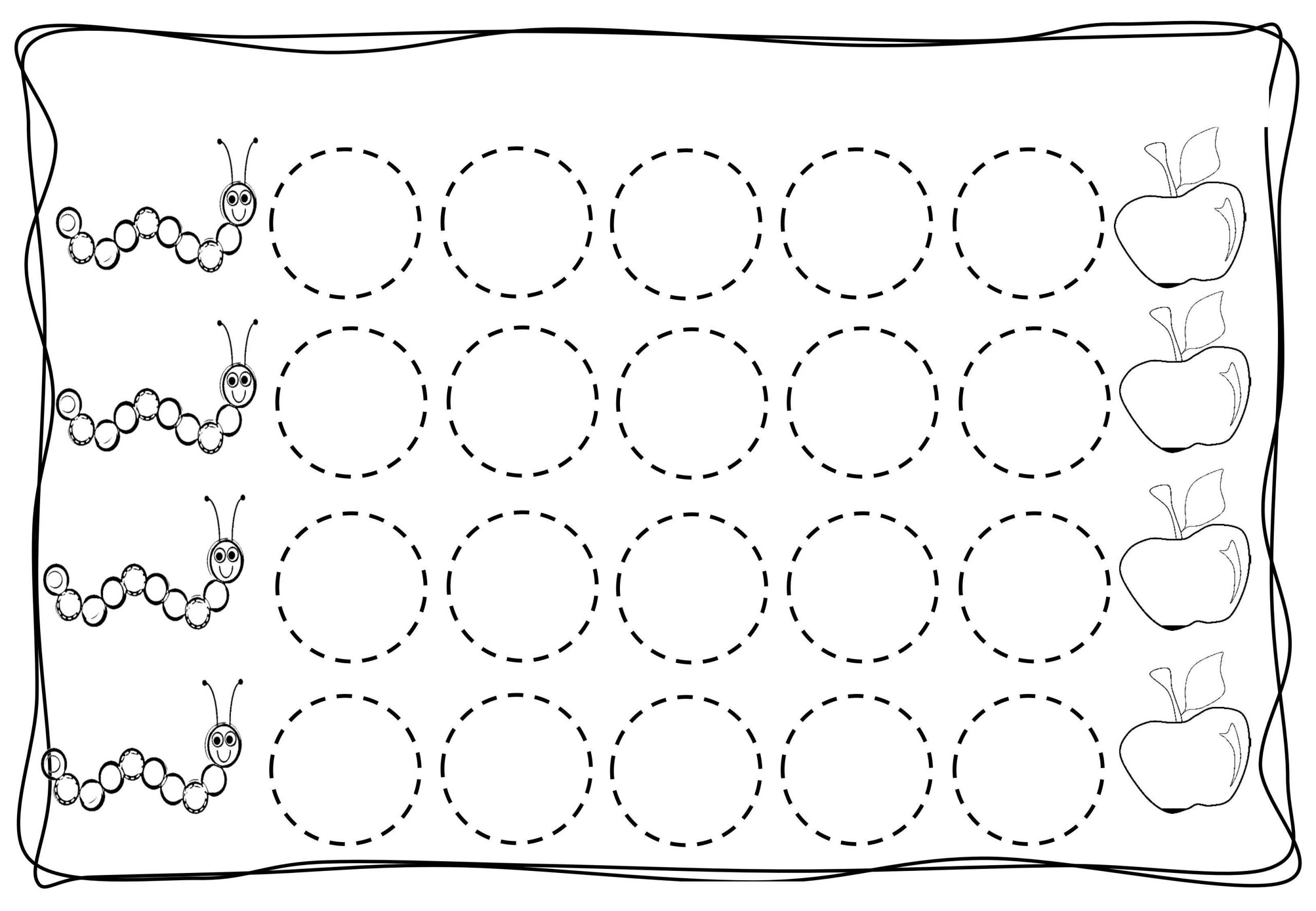 Preschool Worksheets Tracing Lines 1