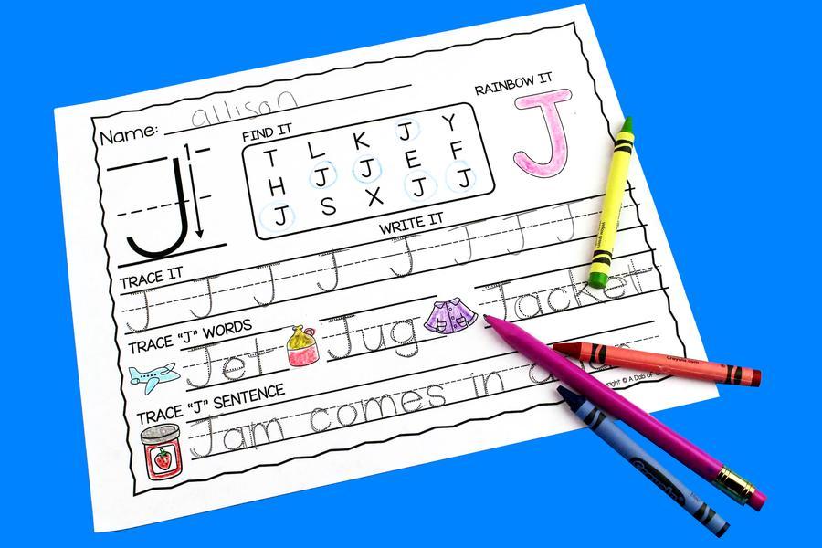 Preschool Worksheets Uppercase 6