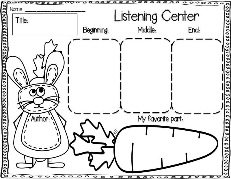 Reading Comprehension Worksheets For Preschool