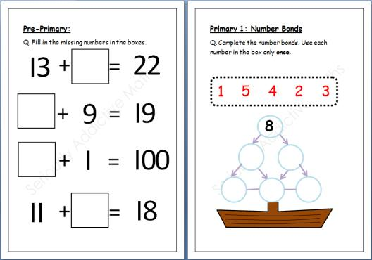 Singapore Math Preschool Worksheets