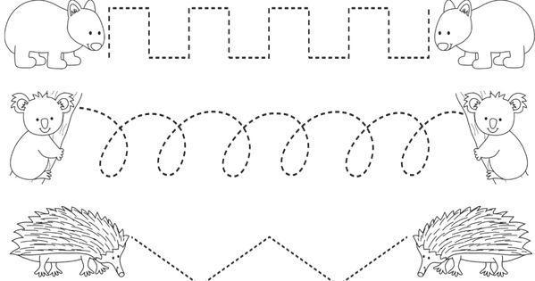 Tracing Curved Lines Worksheets Preschool