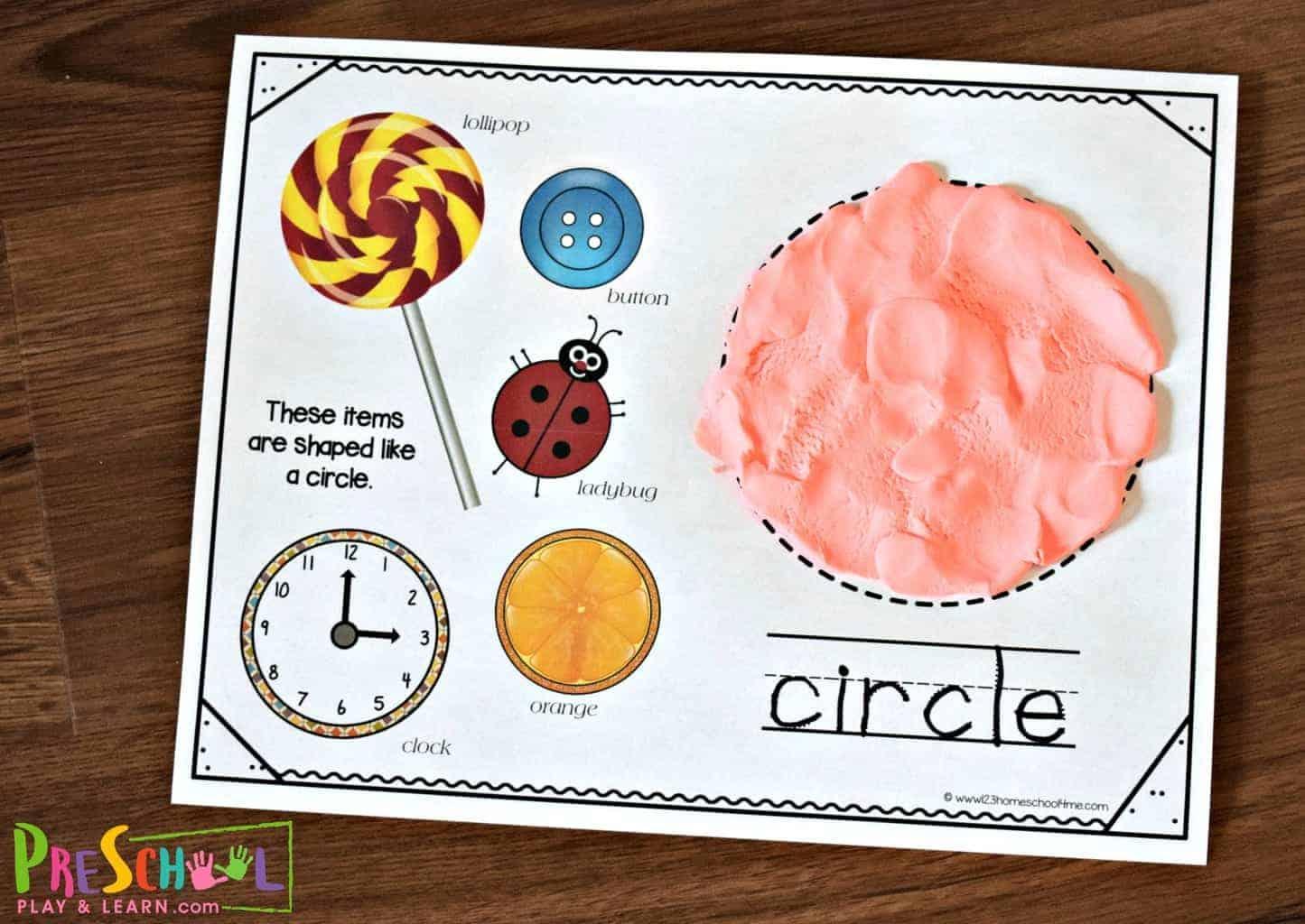Worksheets On Rectangle For Preschool 5