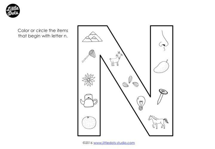 Free Letter V Worksheets For Preschool