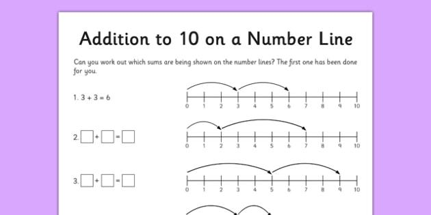 Math Worksheets Addition To 10 1