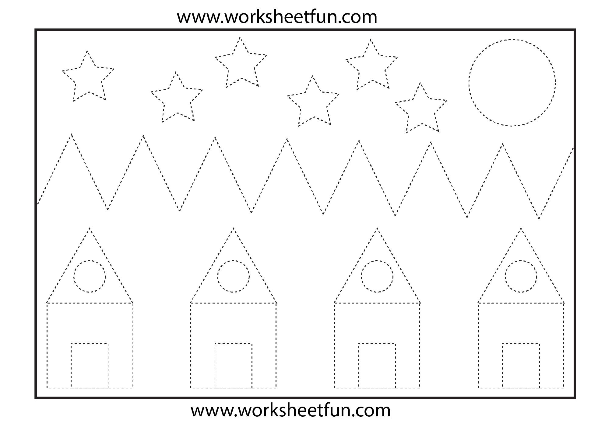 Math Worksheets For Kindergarten 5