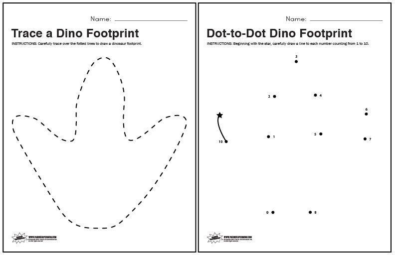 Preschool Volcano Worksheets 5