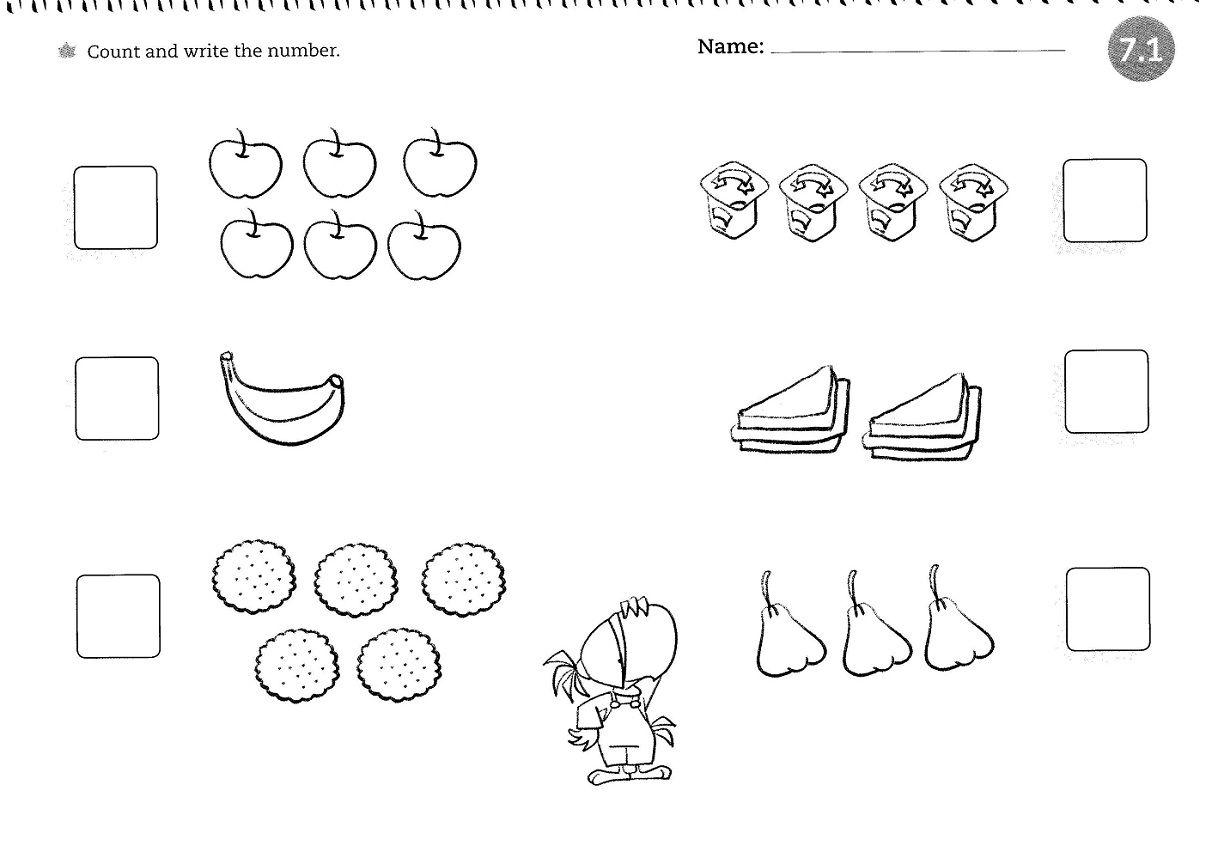 Preschool Worksheets For 4 Year Olds Free 4
