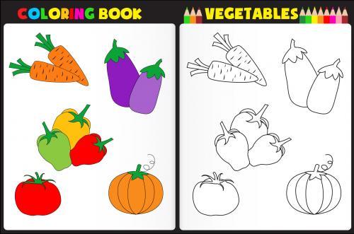 Vegetable Worksheets For Preschool