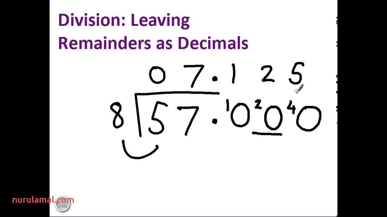 Math Worksheets Division 4th Grade 4