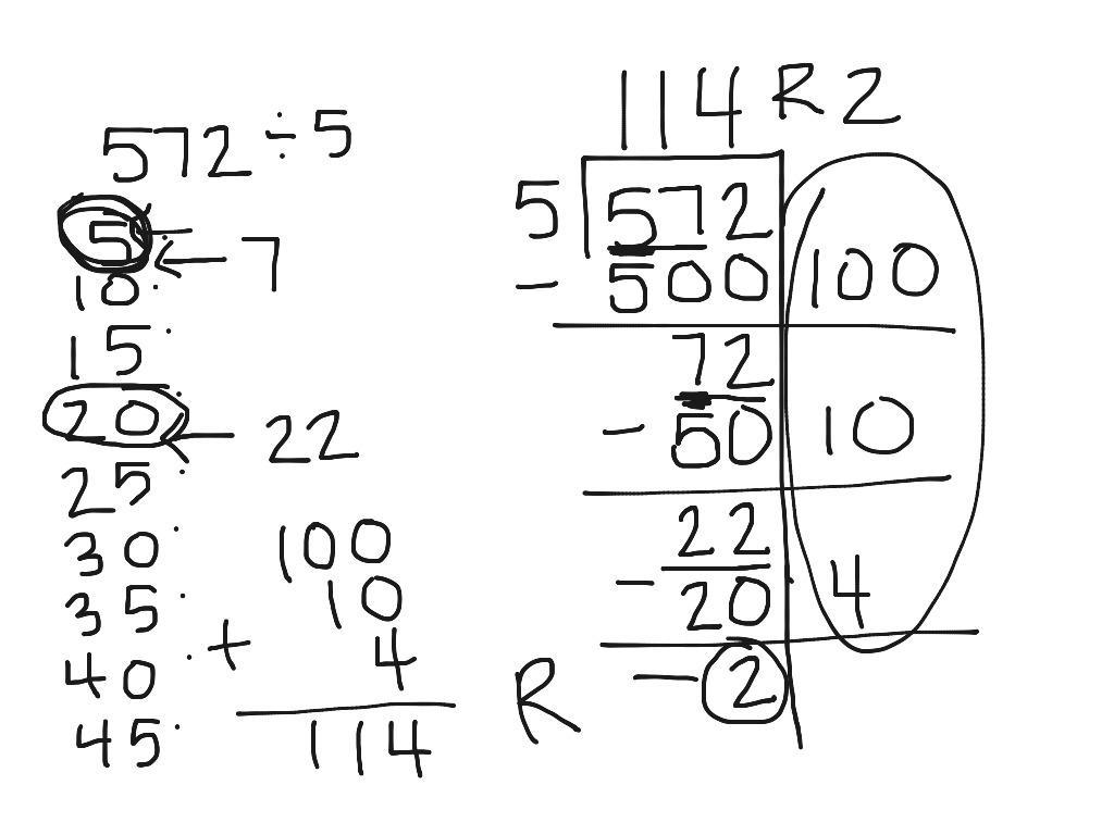 Math Worksheets Division 4th Grade 7