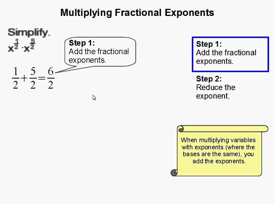 Math Worksheets Exponents 3