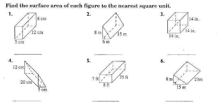 Math Worksheets Land Grade 6