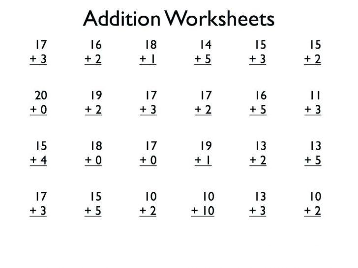Math Worksheets Level 2 3