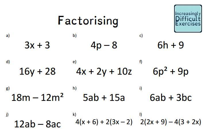 6th Grade Math Worksheets Pre Algebra