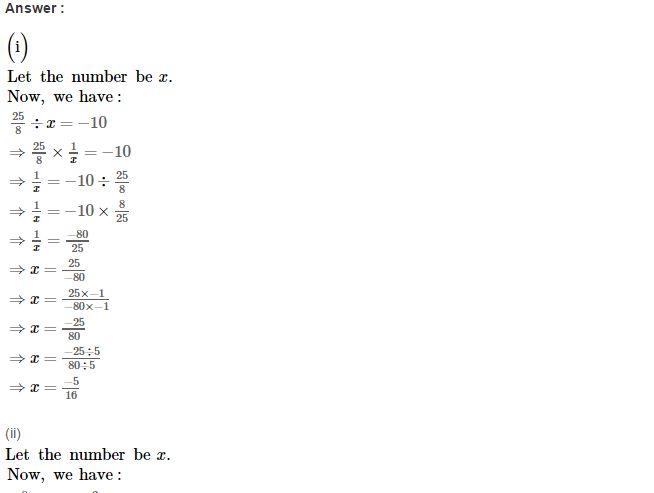 7th Grade Math Worksheets Rational Numbers