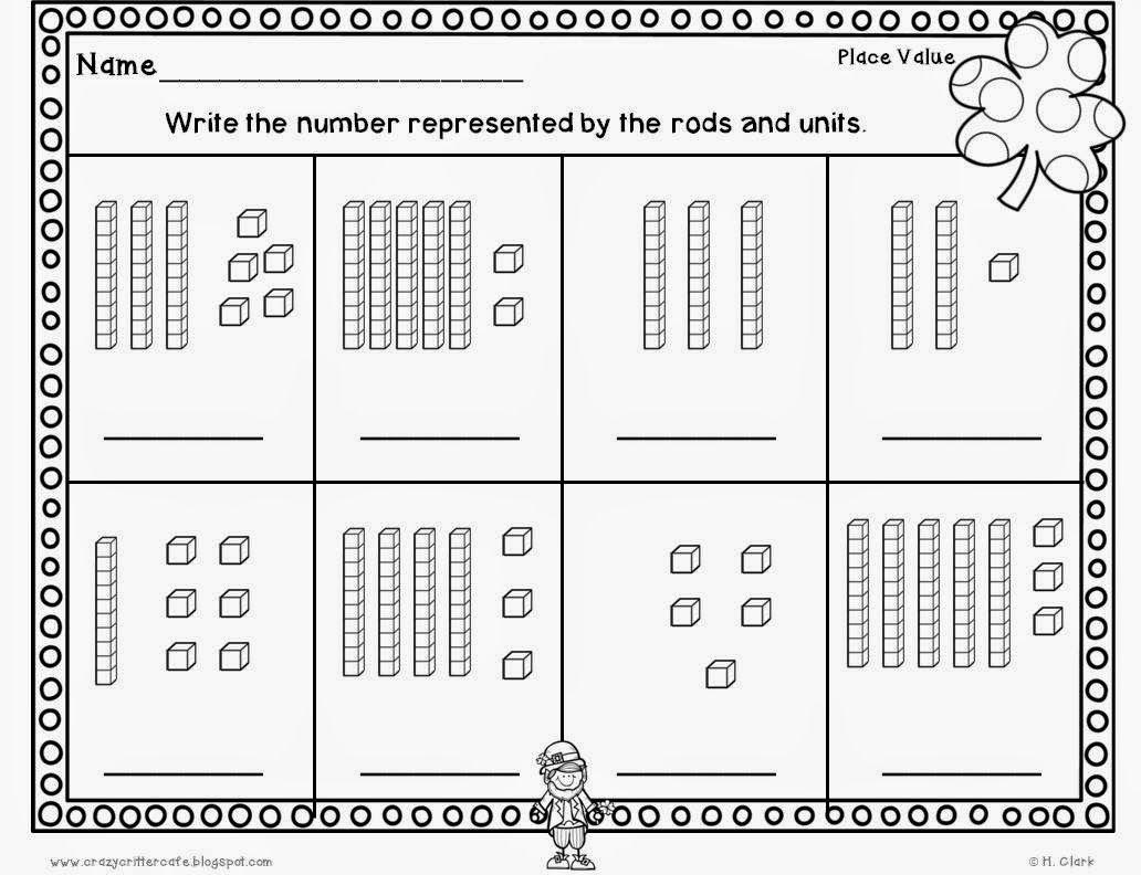 Grade 1 Math Worksheets Tens And Ones