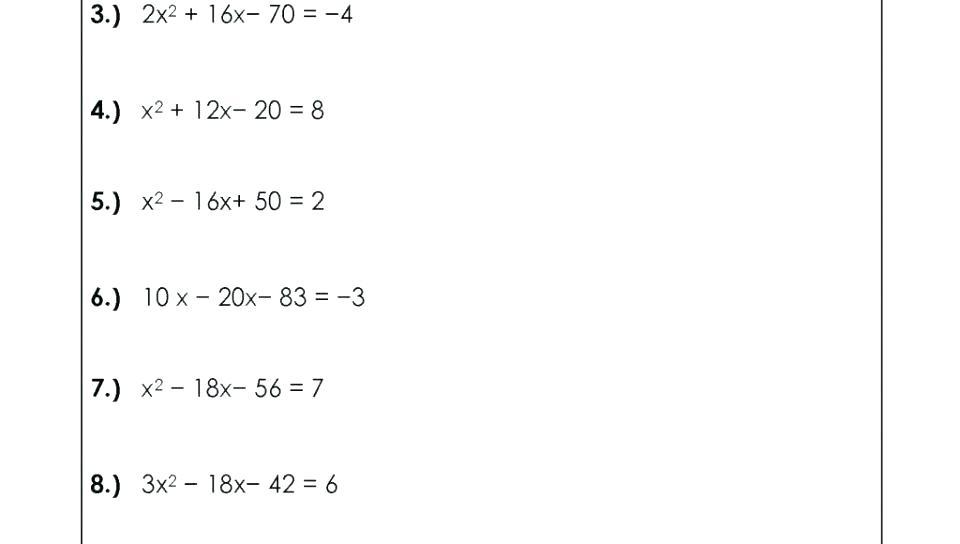 Homeschool Math Worksheets Order Of Operations
