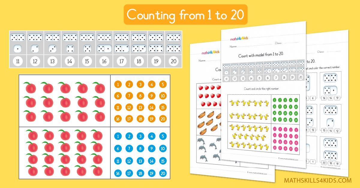 Math Addition And Subtraction Worksheets Up To 20