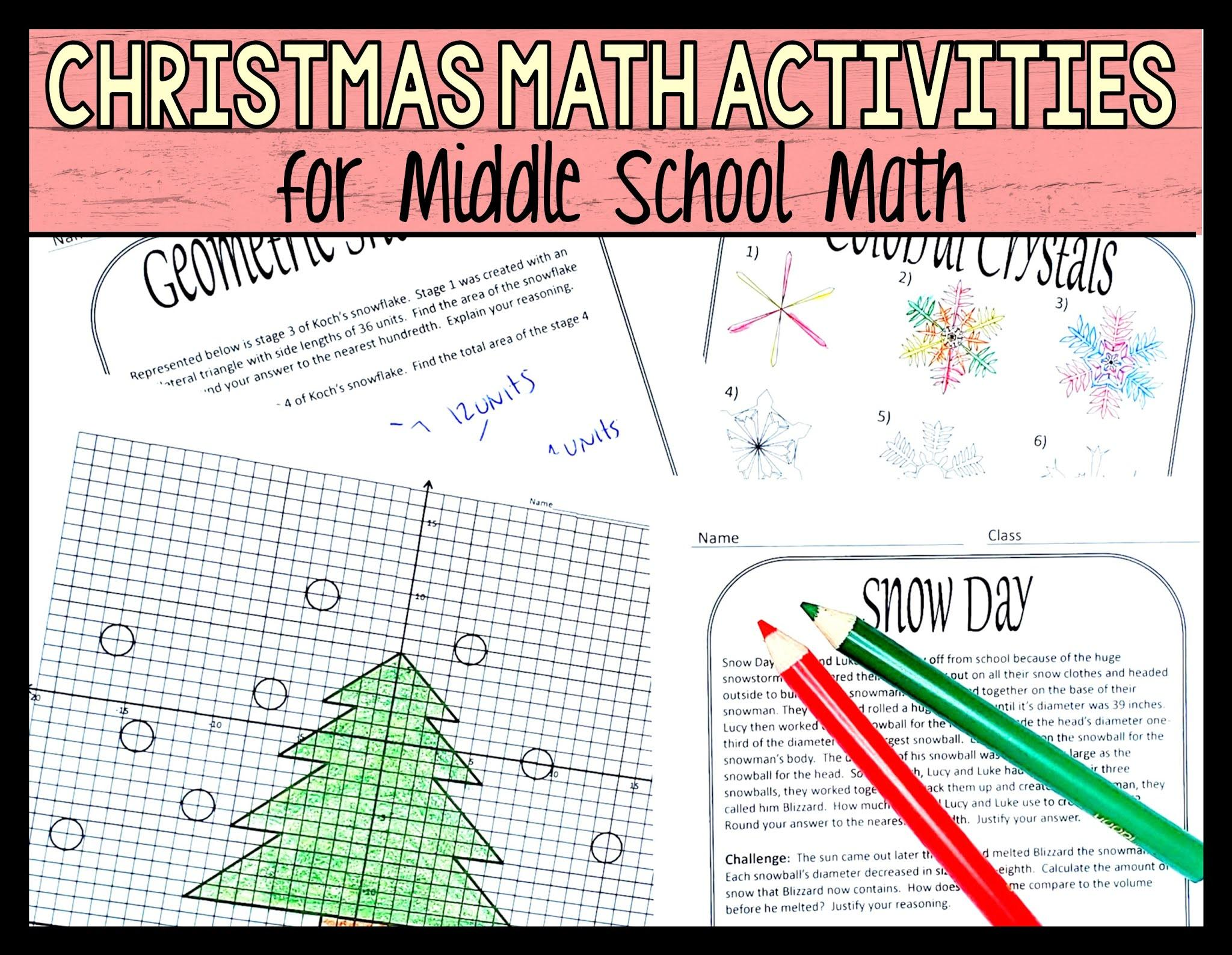 Math Coloring Worksheets Middle School Pdf
