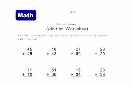Math Test Worksheets For 2nd Grade