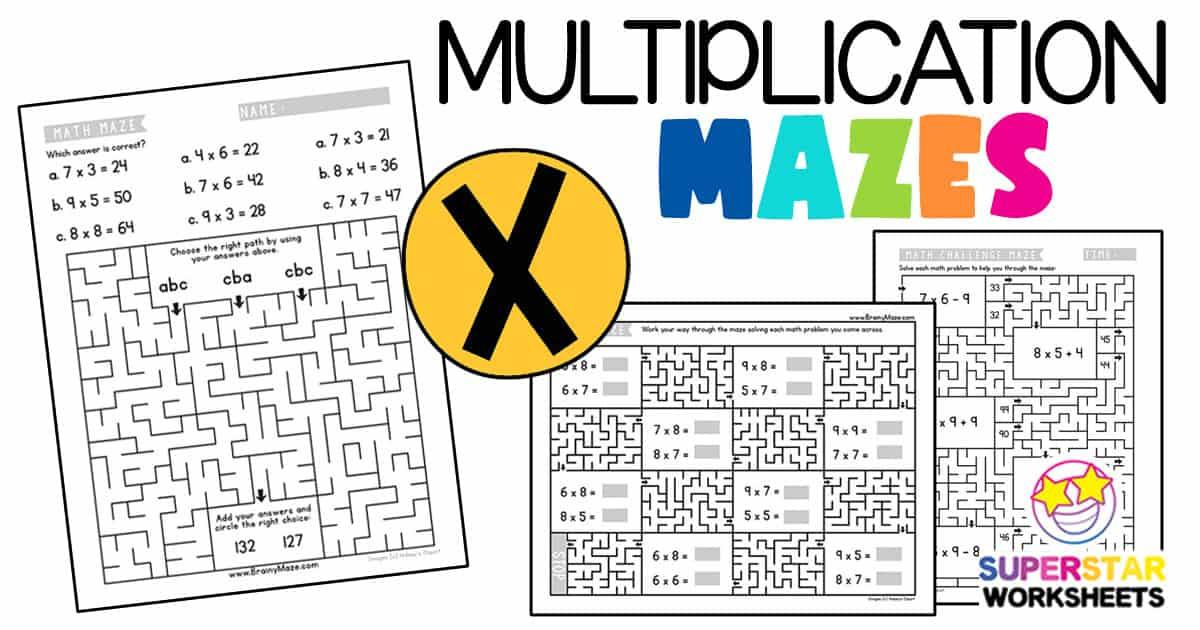 Math Worksheets Multiplication 4th Grade