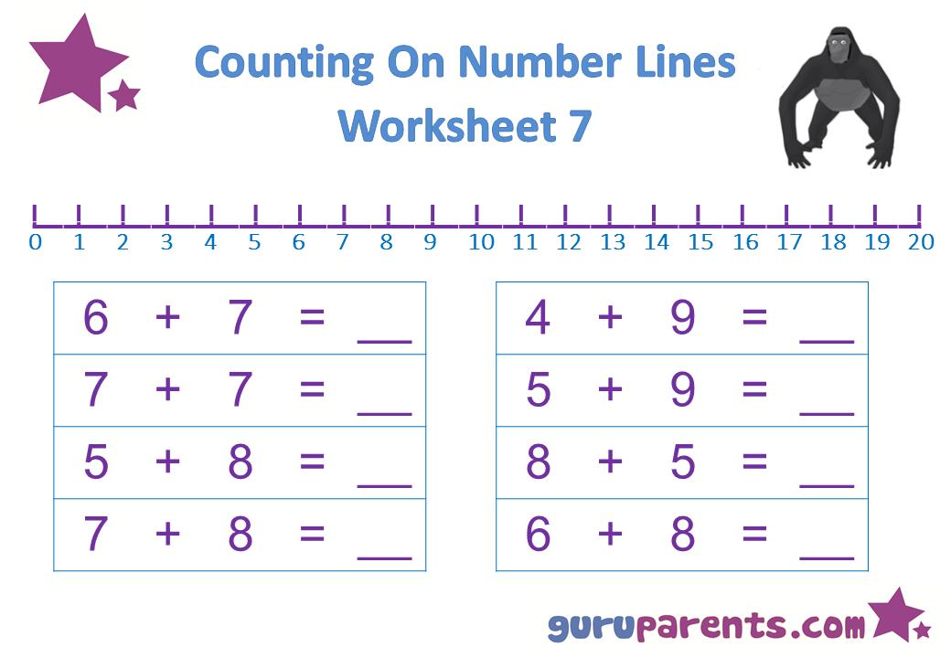 Math Worksheets Numbers 11-20