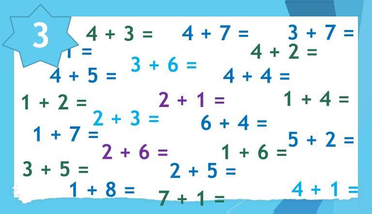 Math Worksheets Single Digit Addition 4