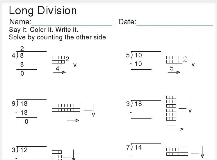 Math Worksheets Using Base Ten Blocks 1
