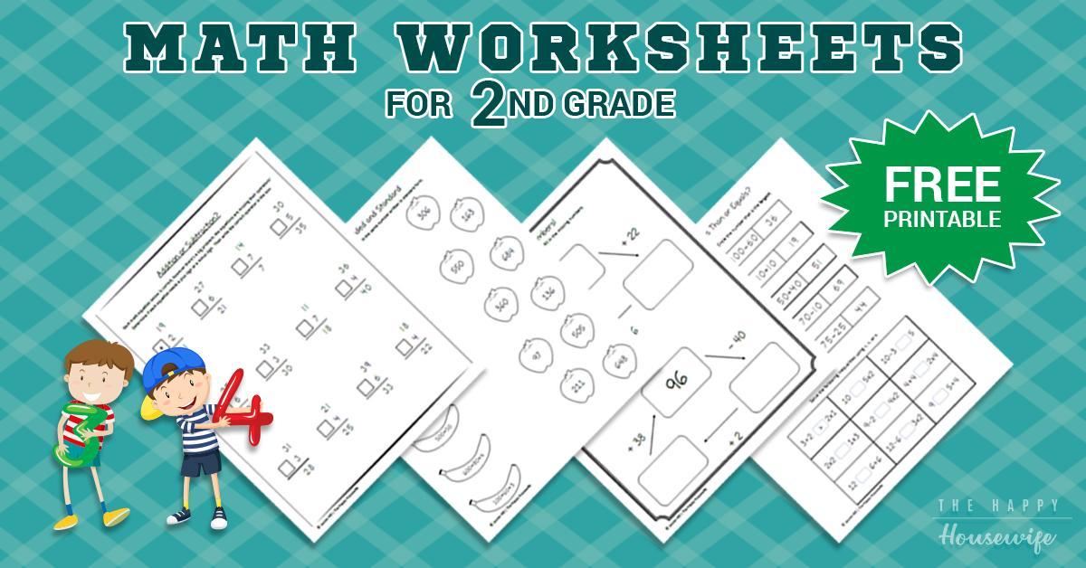 Mathematics Worksheets Second Grade