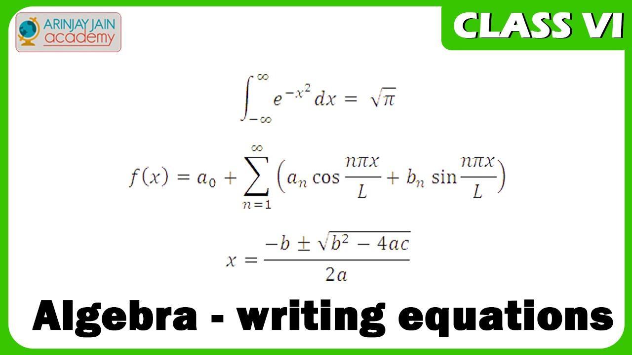 Algebra Worksheet For Class 6 Byju's