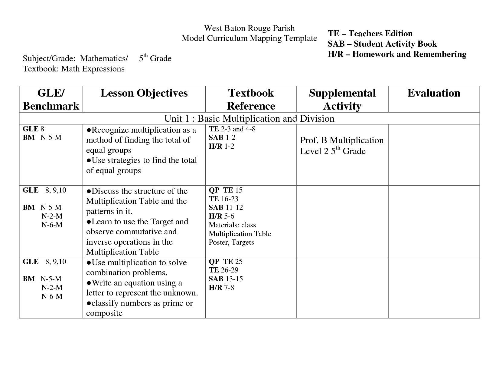 Free Math Worksheets Volume