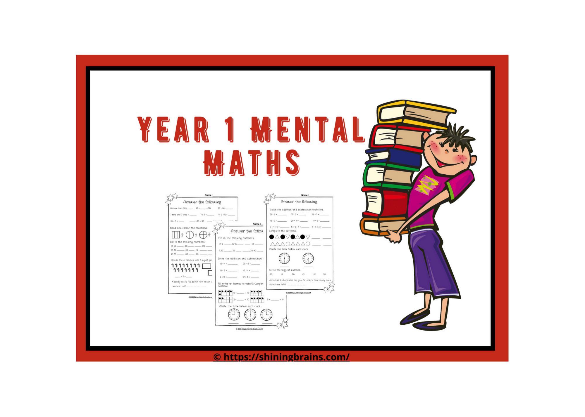Math Worksheets Year 1 Uk