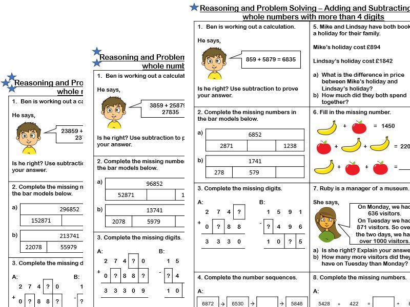 Math Worksheets Year 5 Australia